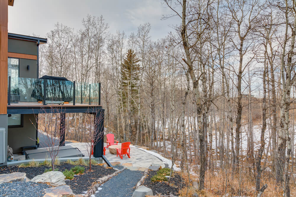 custom build in silverhorn bearspaw